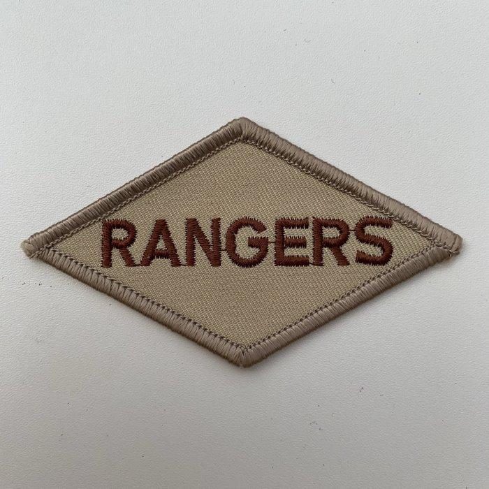 US United States WW2 Rangers Battalion ARMY Shoulder Diamond Badge Patch