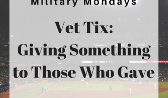 Vet Tix: Giving Something to Those Who Gave