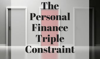 The Personal Finance Triple Constraint