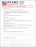 What Contributes To A Strong Marriage?
