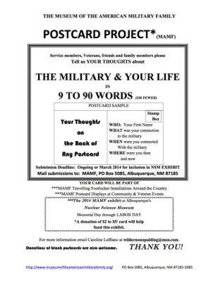 Flyer postcard project