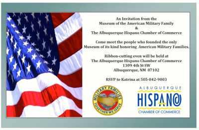 Invitation to meet MAMF members from Hispano Chamber of Commerce