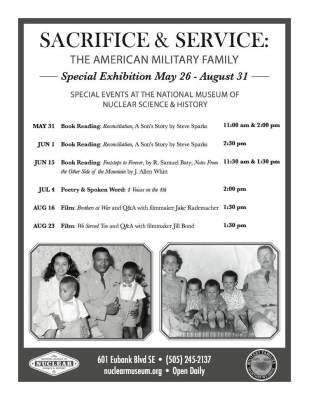 Sacrifice & Service Poster for Nuclear Museum