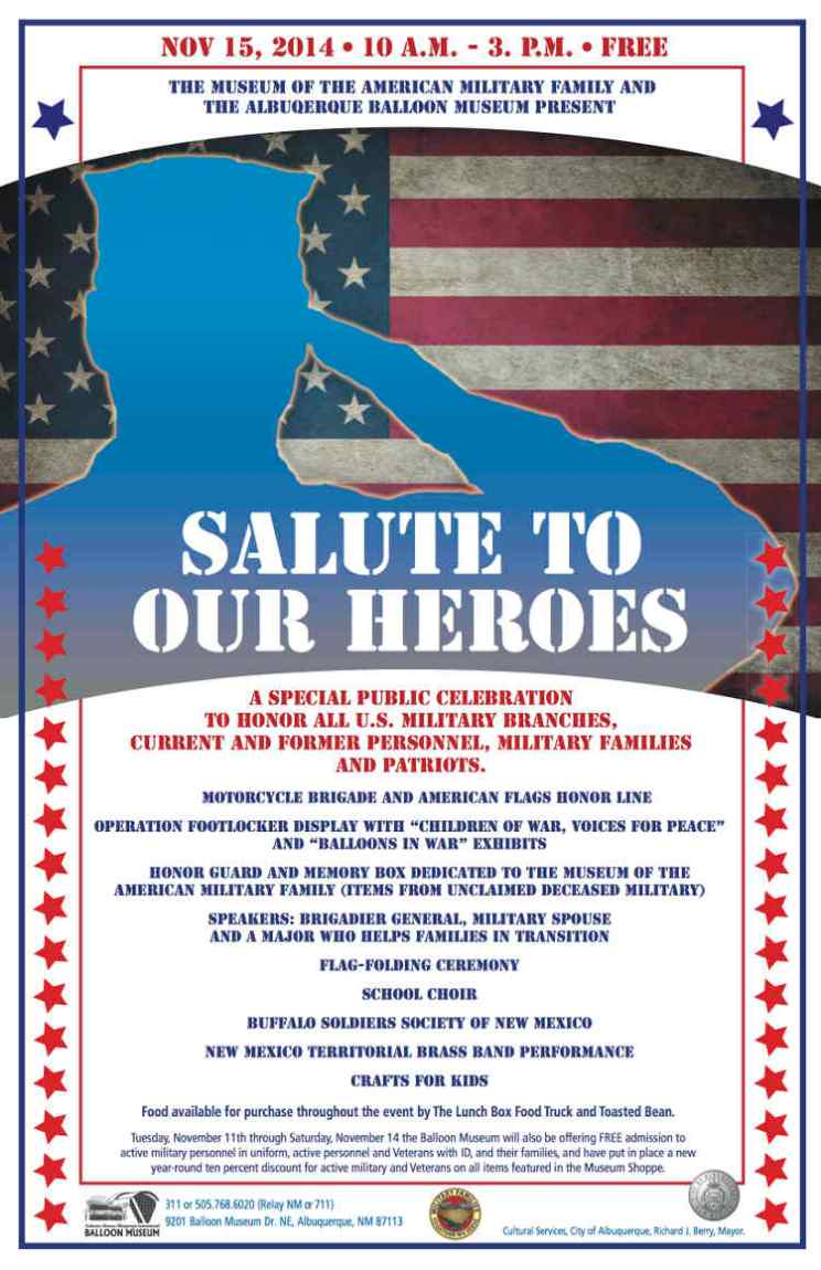 Salute to Heros Poster