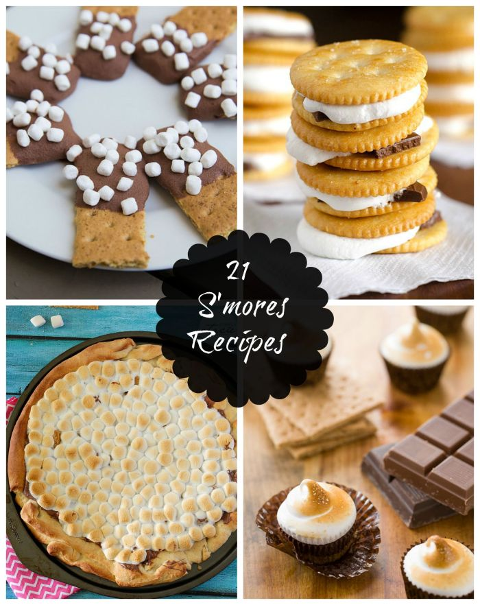 21 Delicious S'more Recipes you will love