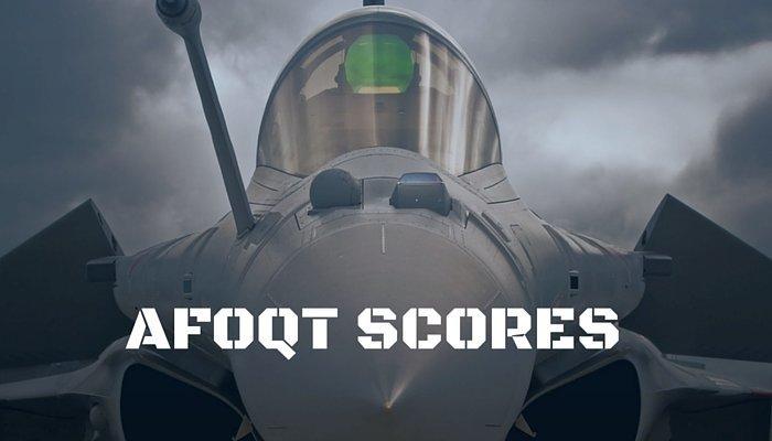 AFOQT Scores