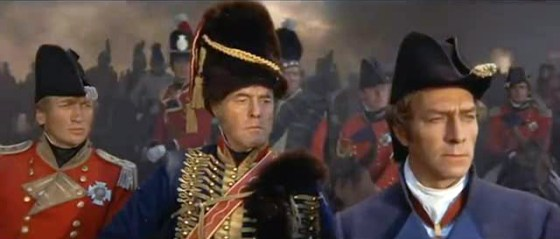 Christopher Plummer plays the Duke of Wellington opposite Rod Steiger as Napoleon Bonaparte in the forgotten 1970 epic Waterloo.