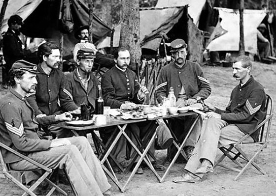 Just like people today, soldiers in Civil War armies refused to work without their daily coffee.