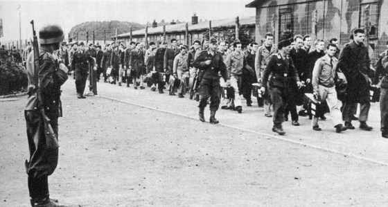 Allied POWs were the victims of one of the worst friendly fire incidents of the Second World War.