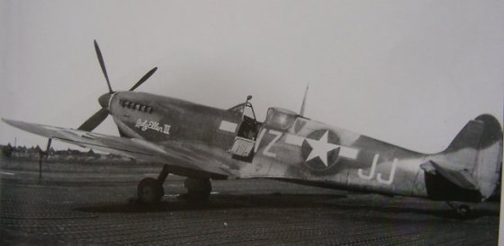 An American Spitfire in 1942.