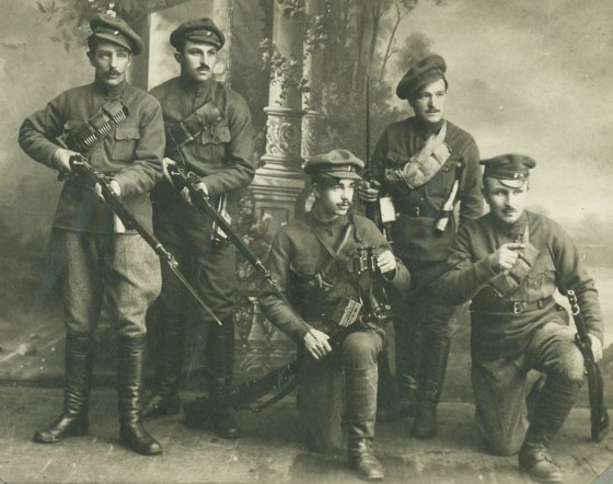 Men of the Czechoslovak Legion.