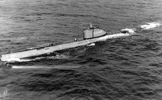 The German Type XXI U-boat was certainly ahead of its time. The Nazis hoped to convert the snorkelling submarine into a ballistic missile boat.