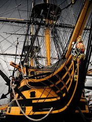 HMS Victory today.