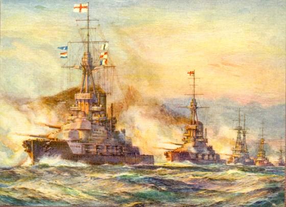 Infographic — History's Seven Deadliest Sea Battles
