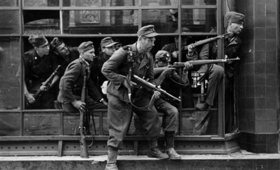 Soldiers of the 36th Waffen SS fought to suppress the Warsaw Uprising. The unit was made up of crooks, thugs and the criminally insane, all hand picked to carry out a terror campaign in Eastern Europe.