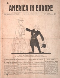 America in Europe was printed by the Germans for American troops.