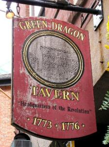 Boston's Green Dragon Tavern -- the birthplace of American independence.