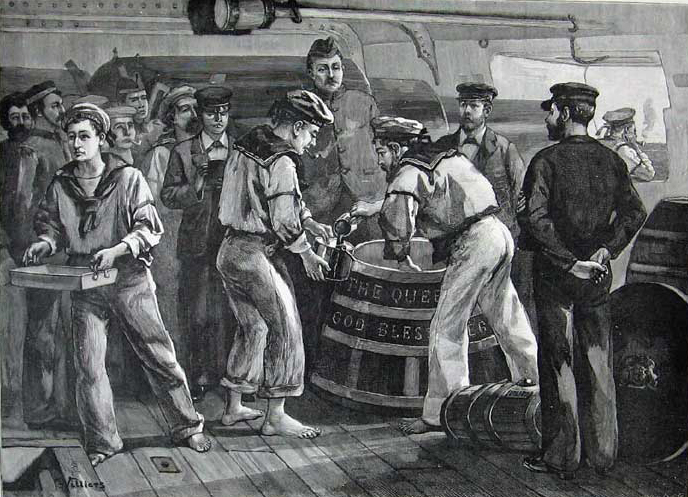 Fighting Spirits - Three Centuries of Rum in the Royal Navy ...