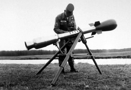 "The ""Davy Crockett"" was a three-man team nuclear weapon deployed to the U.S. Army in West Germany during the 1960s."