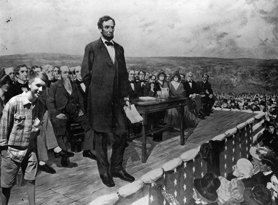 "Lincoln referred to the conflict between the states as a ""civil war"" in his 1863 Gettysburg Address. To Southerners, it was a second war of independence. (Image Source: Library Of Congress)"