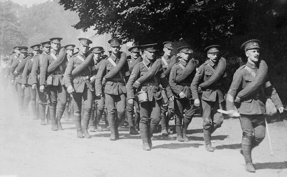 The British Army in 1914. Contemptible... and proud of it!