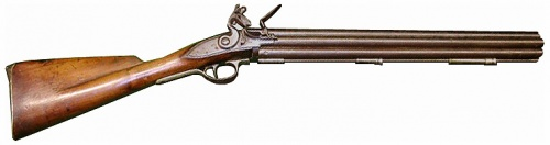 A replica of a Nock Gun (Image source: Internet Movie Firearms Database)