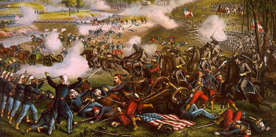 One Virginia farmer watched the first battle of the Civil War out his kitchen window and saw it end four years later in his own living room.