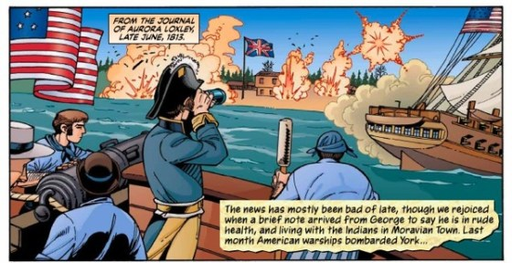 The Loxley's, a graphic novel that was financed by the Canadian government, commemorates the 200th anniversary of the War of 1812.