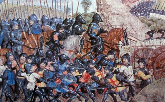 The Hundred Years War was neither 100 years nor was it one war, but rather several smaller inflicts.