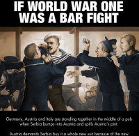 So, the Central Powers walk into a bar...
