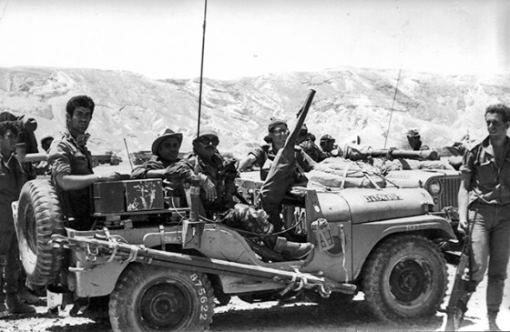 Israel defeated the combined armies of Jordan, Syria and Egypt in six days in 1967.