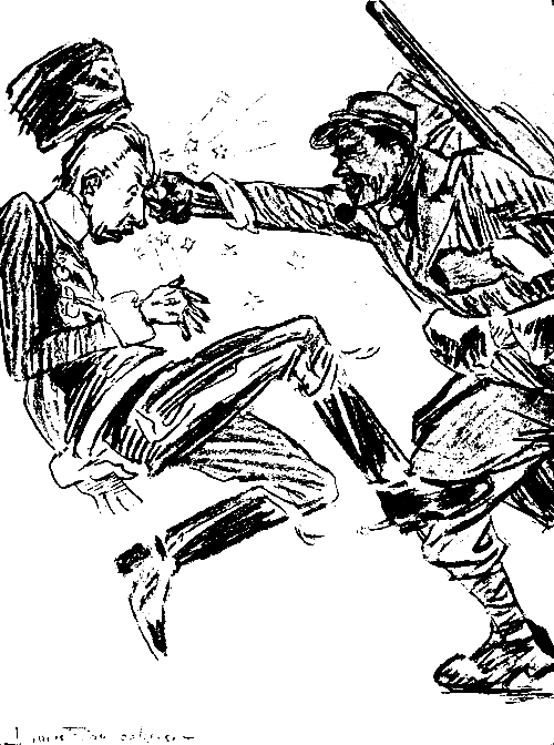 InfoGraphic — The First World War Explained… As a Bar Fight