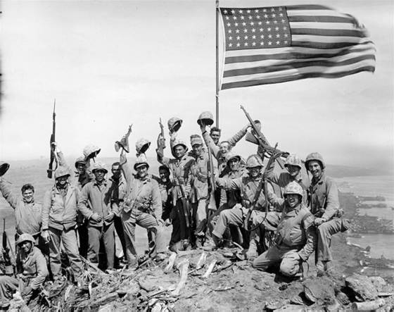 What are the most famous American flags from military history? We've come up with a list. (Image source: WikiCommons)
