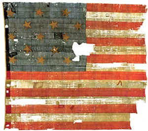The original Star Spangled Banner.