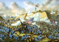 The Capture of Fort Fisher.