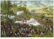 The Battle of Chickamauga.