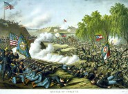 The Battle of Corinth.