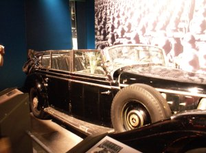 Thousands visit the Canadian War Museum just to get a glimpse of Hitler's famous wartime limo. Image courtesy WikiCommons.