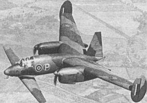 The Miles M.39 Libellula.