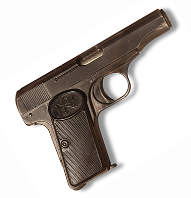 Military History in 100 Objects – The Pistol That Killed 20 Million People