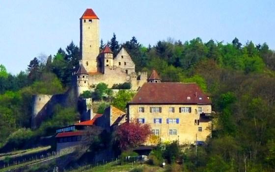 Götz von Berlichingen's Fortress of Solitude: Hornberg Castle.