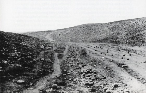 Did pioneer war photographer Roger Fenton actually place those cannon balls on the road? One documentary film maker thinks he did.