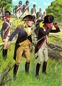 Men of the American Legion, 1794.