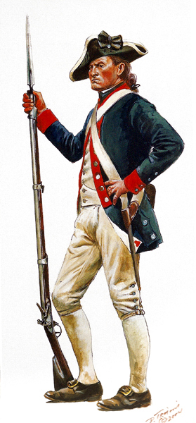 America's First Soldiers - 12 Remarkable Facts About the ... American Revolution Soldier Clipart