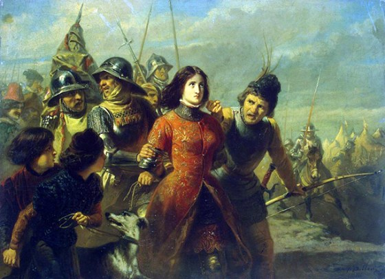 The capture of Joan of Arc.