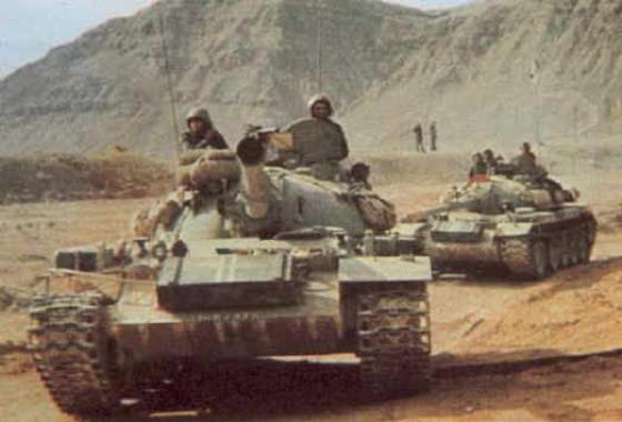 Hundreds of Cuban tank crews took part in the 1973 Arab Israel War.