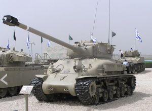 "An Israeli ""Super Sherman""."
