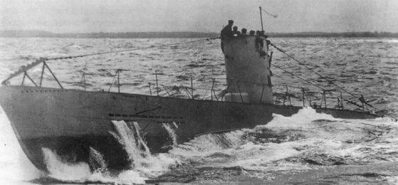 A Type II U-boat.
