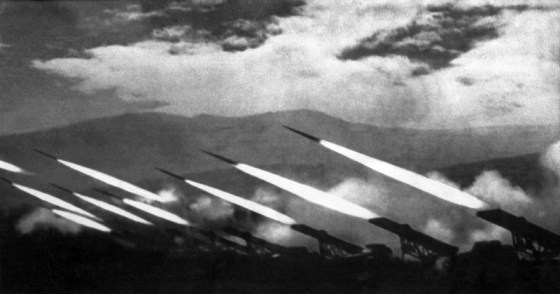 When deployed properly, Katyusha rocket launchers could lay waste to vast areas of enemy territory. The Germans learned to fear it.