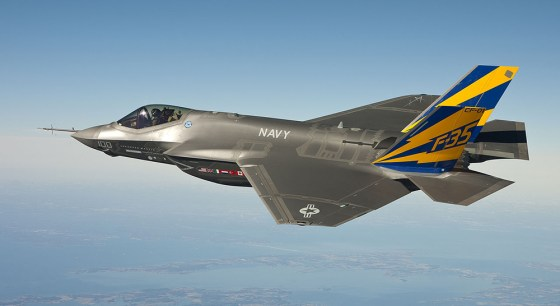 The F-35 Lighting II. (Image courtesy the U.S. Navy)